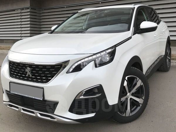 Peugeot 3008, 2017 год, 1 450 000 руб.