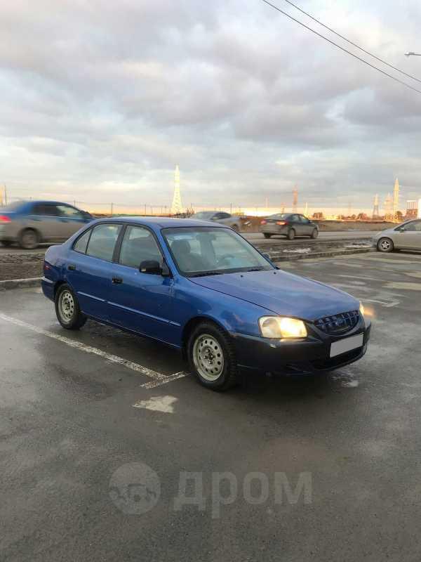 Hyundai Accent, 2000 год, 115 000 руб.