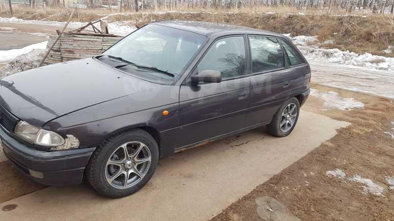 Opel Astra, 1996 год, 60 000 руб.