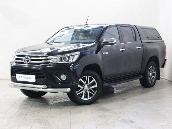 Toyota Hilux Pick Up, 2017 год, 1 870 000 руб.