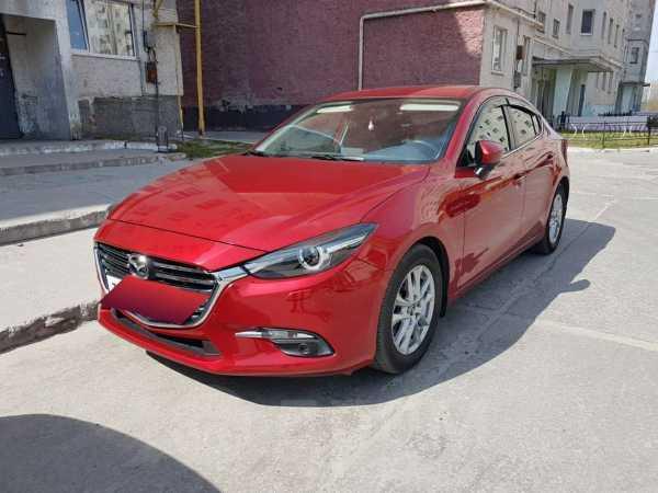 Mazda Mazda3, 2017 год, 1 230 000 руб.