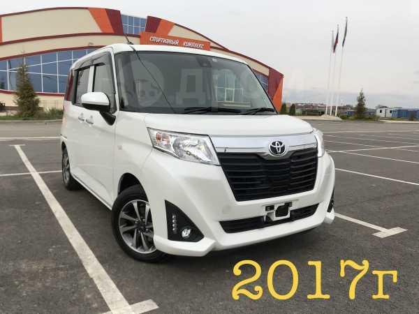 Toyota Roomy, 2017 год, 750 000 руб.
