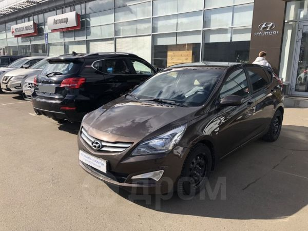 Hyundai Solaris, 2015 год, 612 000 руб.