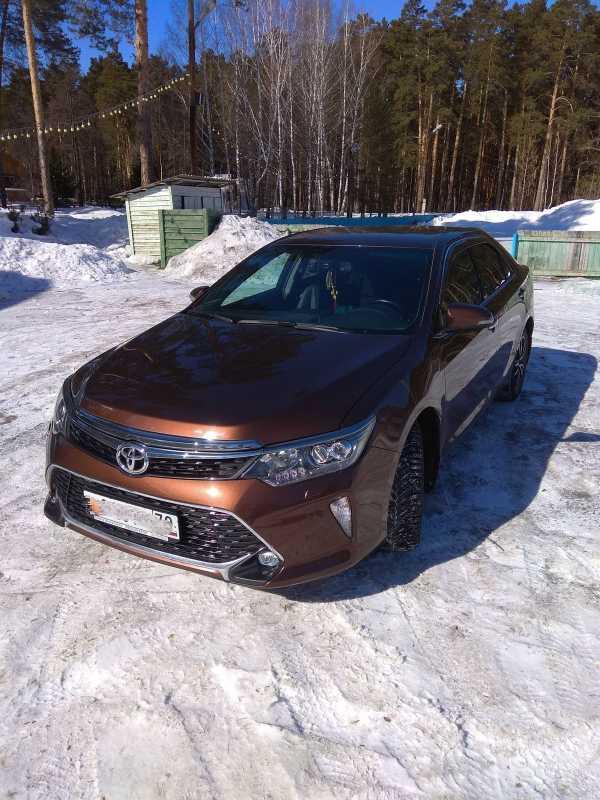 Toyota Camry, 2017 год, 1 490 000 руб.
