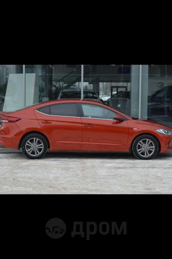 Hyundai Elantra, 2017 год, 990 000 руб.