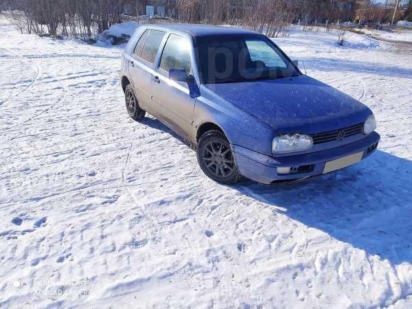 Volkswagen Golf, 1996 год, 145 000 руб.