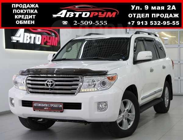 Toyota Land Cruiser, 2012 год, 2 357 000 руб.