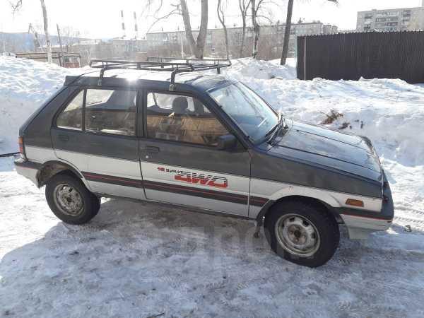 Subaru Justy, 1987 год, 150 000 руб.