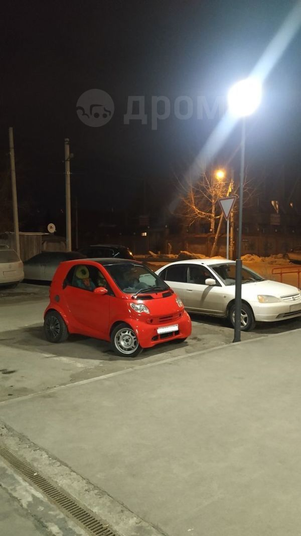 Smart Fortwo, 2002 год, 270 000 руб.