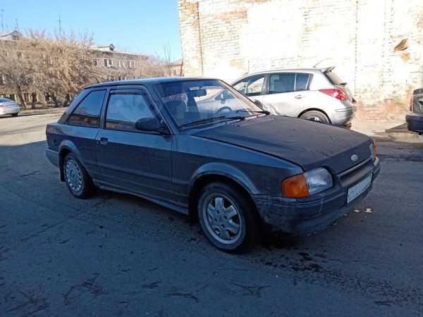 Ford Escort, 1986 год, 17 000 руб.