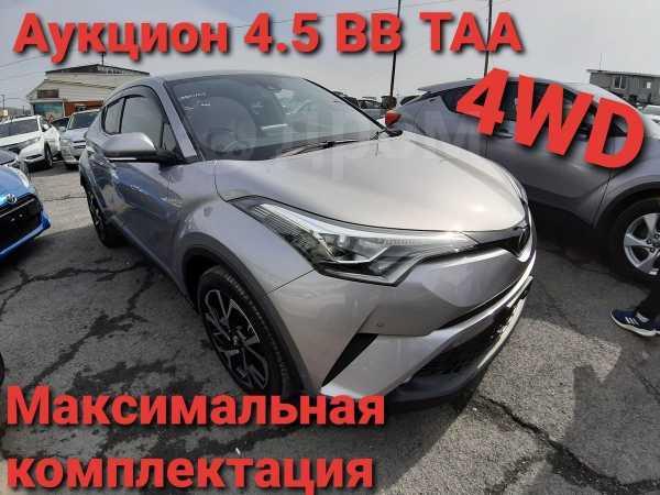 Toyota C-HR, 2017 год, 1 410 000 руб.