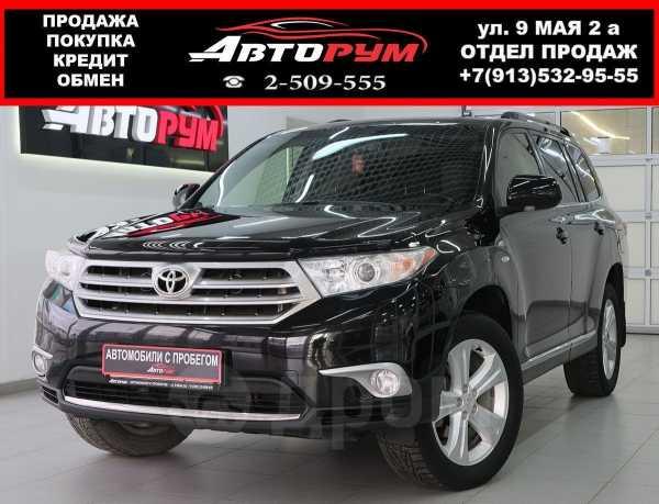 Toyota Highlander, 2013 год, 1 367 000 руб.