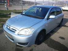 Сочи Corolla Runx 2004