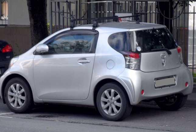 Toyota iQ, 2009 год, 390 000 руб.