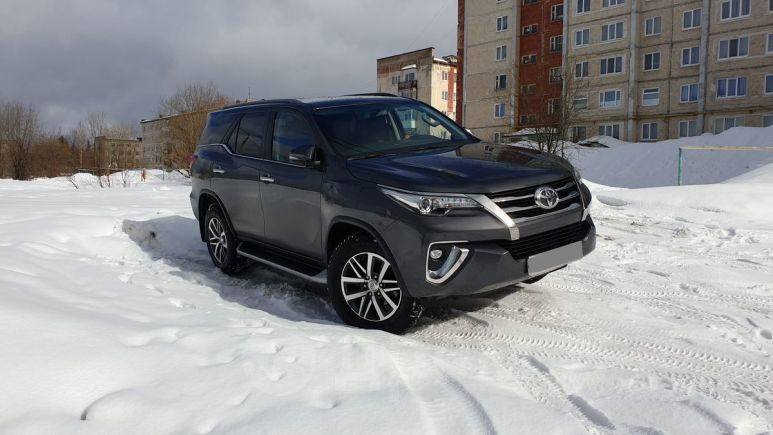 Toyota Fortuner, 2017 год, 2 299 000 руб.