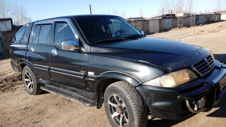 SsangYong Musso, 2005 год, 215 000 руб.
