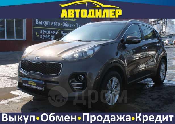 Kia Sportage, 2017 год, 1 280 000 руб.
