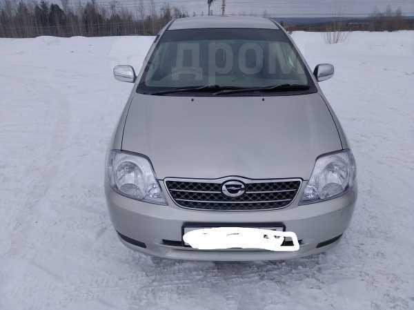Toyota Corolla, 2002 год, 327 000 руб.