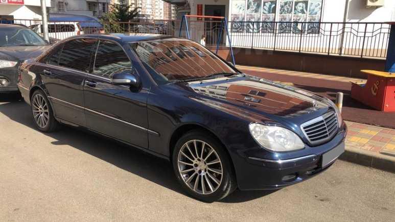 Mercedes-Benz S-Class, 2000 год, 420 000 руб.