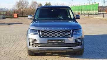 Москва Range Rover 2018
