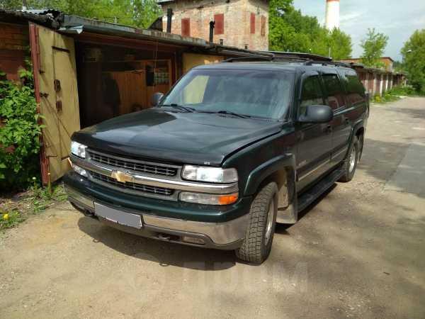 Chevrolet Suburban, 2001 год, 1 100 000 руб.