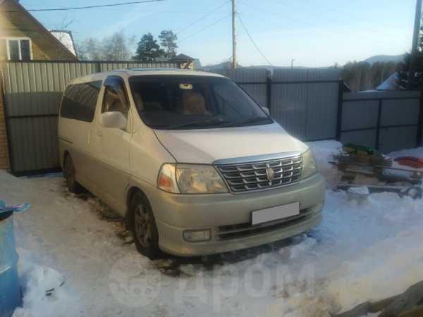 Toyota Grand Hiace, 2001 год, 280 000 руб.