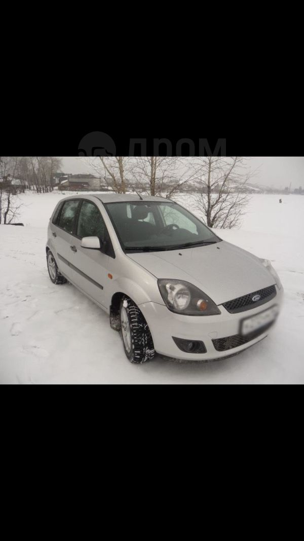 Ford Fiesta, 2007 год, 280 000 руб.