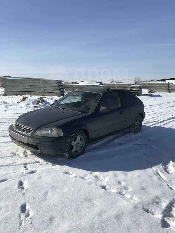 Хонда Цивик 1998 в Красноярске, возможен обмен, бу ...  Хонда Цивик 1998 Хэтчбек