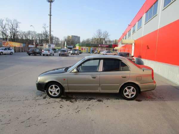 Hyundai Accent, 2002 год, 105 000 руб.