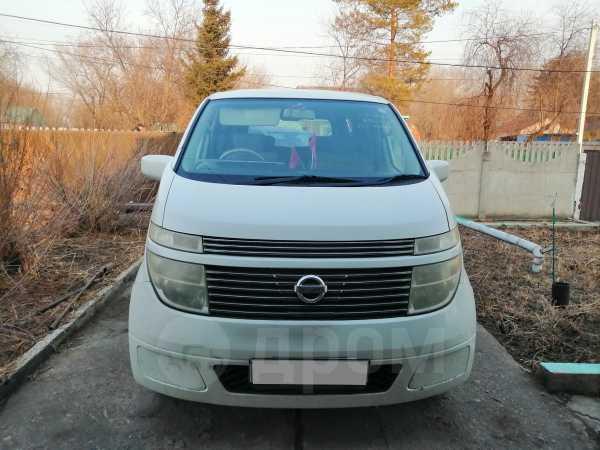 Nissan Elgrand, 2003 год, 600 000 руб.