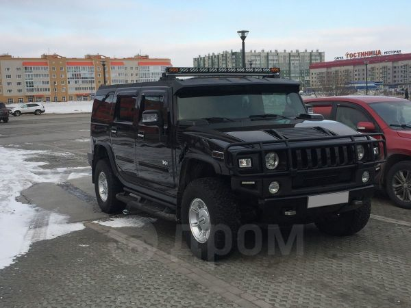 Hummer H2, 2003 год, 1 100 000 руб.
