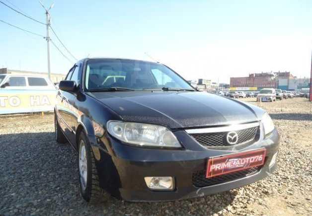 Mazda Protege, 2002 год, 139 000 руб.