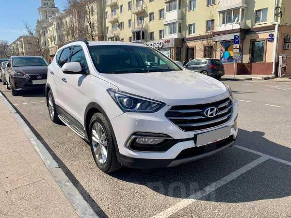 Hyundai Santa Fe, 2017 год, 1 540 000 руб.