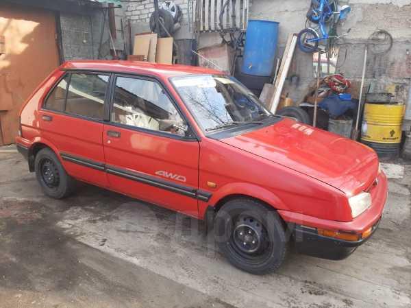 Subaru Justy, 1990 год, 95 000 руб.