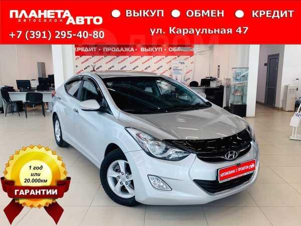 Hyundai Avante, 2011 год, 617 000 руб.