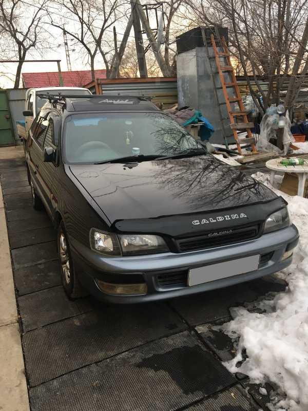Toyota Caldina, 1996 год, 275 000 руб.