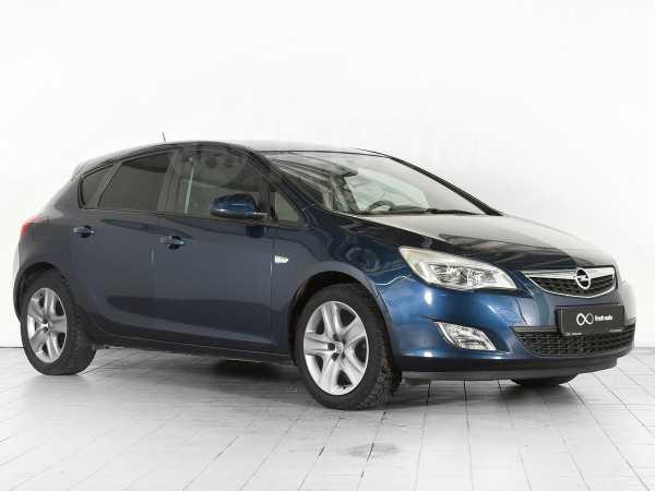 Opel Astra, 2011 год, 499 000 руб.