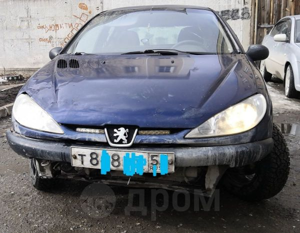 Peugeot 206, 1998 год, 65 000 руб.