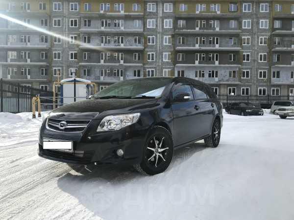 Toyota Corolla Fielder, 2009 год, 525 000 руб.