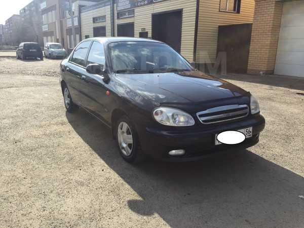 Chevrolet Lanos, 2008 год, 128 000 руб.