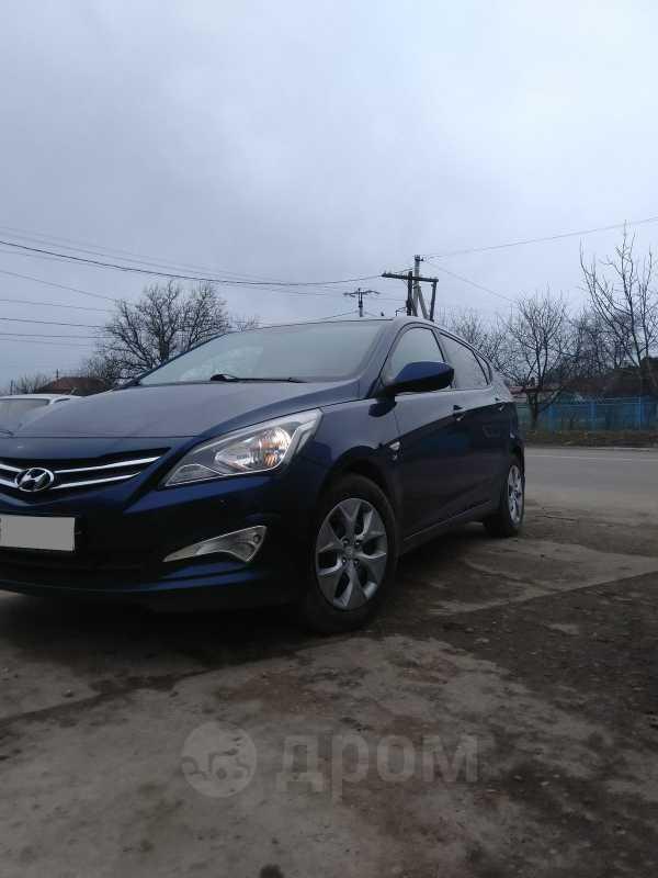 Hyundai Solaris, 2015 год, 595 000 руб.