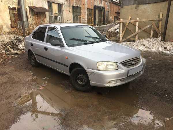 Hyundai Accent, 2006 год, 80 000 руб.
