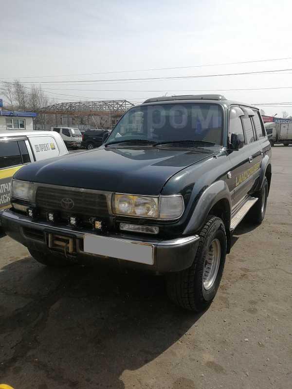 Toyota Land Cruiser, 1995 год, 999 999 руб.