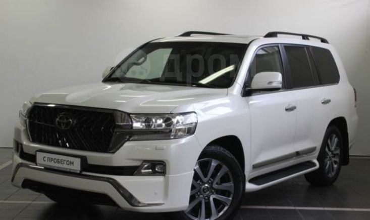Toyota Land Cruiser, 2017 год, 4 850 000 руб.