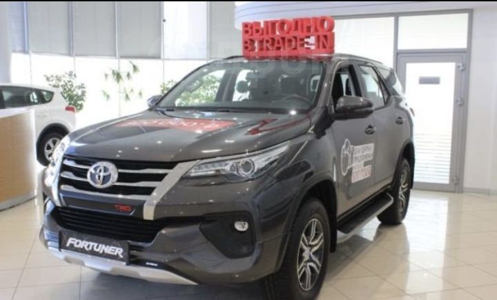 Toyota Fortuner, 2019 год, 3 008 000 руб.