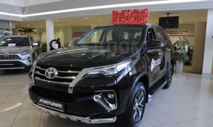 Toyota Fortuner, 2019 год, 3 114 000 руб.