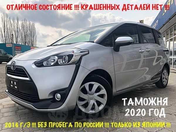Toyota Sienta, 2015 год, 919 000 руб.