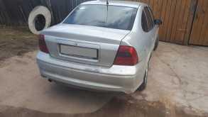 Белый Opel Vectra 2000