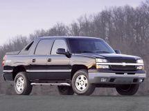 Chevrolet Avalanche 2001, пикап, 1 поколение, GMT800