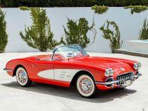 Chevrolet Corvette 2-й рестайлинг 1957, открытый кузов, 1 поколение, C1